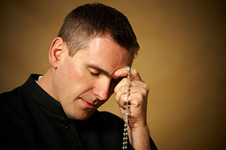 Priesthood Priest Praying