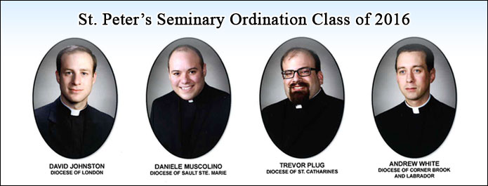 2016 Ordinands